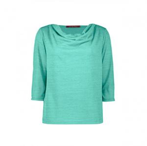 تی شرت نخی آستین سه ربع زنانه – رامکات – سبز