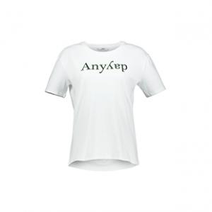 تی شرت نخی یقه گرد زنانه – اونلی – سفید