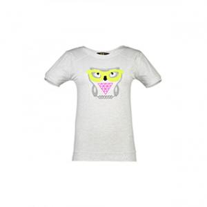 تی شرت یقه گرد زنانه – دیار مد – طوسی