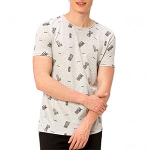 تی شرت یقه گرد مردانه - ال سی وایکیکی