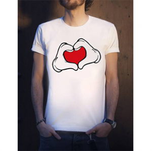 تی شرت نخی یقه گرد مردانه - 60