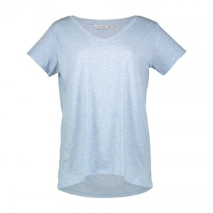 تی شرت یقه هفت زنانه – لاوین رز – آبی