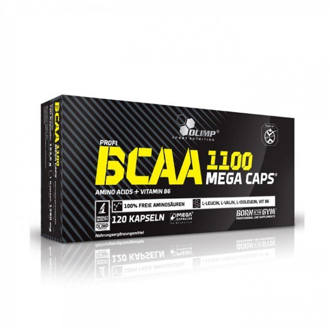 بی سی ای ای کپسولی 1100 الیمپ   Olimp BCAA 1100
