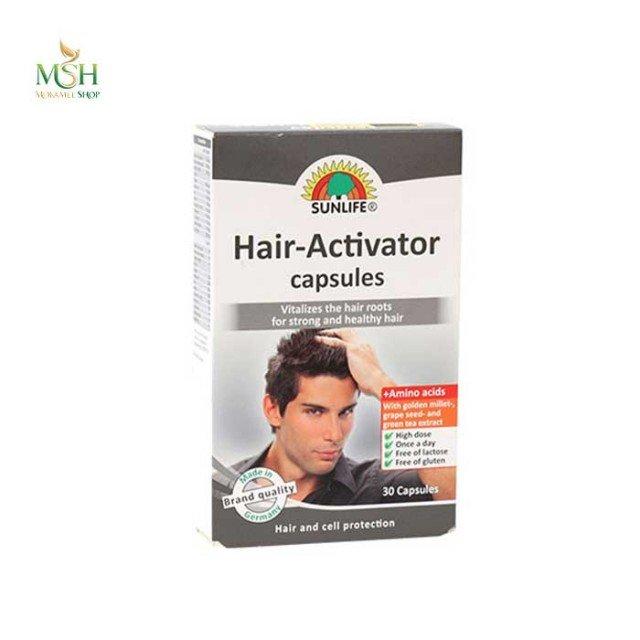 هیر اکتیواتور سان لایف   Sunlife Hair Activator Capsules