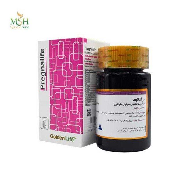 پرگنالایف مولتی ویتامین مینرال بارداری گلدن لایف |  Golden Life Pregnalife Nutritional During Pregnancy