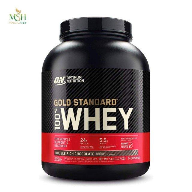 پروتئین وی گلد استاندارد اپتیموم نوتریشن | Optimum Nutrition Whey Gold Standard