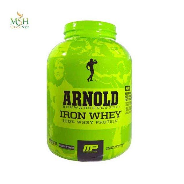 پروتئین وی آرنولد ماسل فارم   Muscle Pharm Arnold Iron Mass Whey Protein