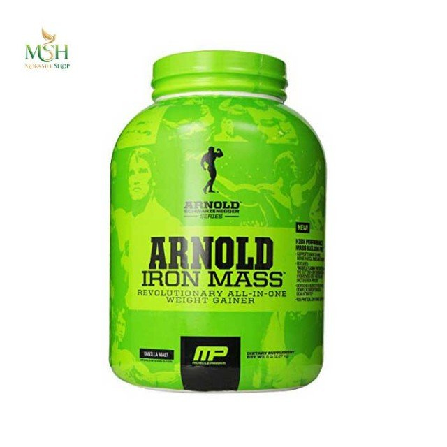 گینر آیرون‌ مس آرنولد ماسل فارم | Muscle Pharm Arnold Iron Mass Gainer