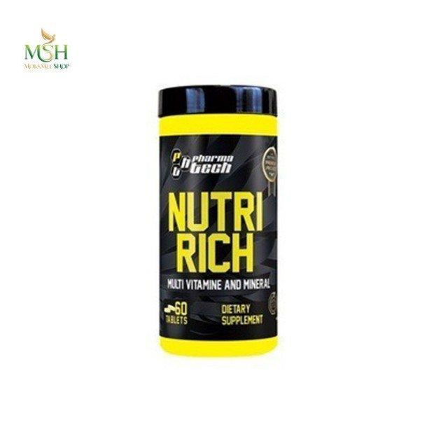 مولتی ویتامین  نوتری ریچ فارماتک | Pharmatech  Nutri Rich Multivitamin
