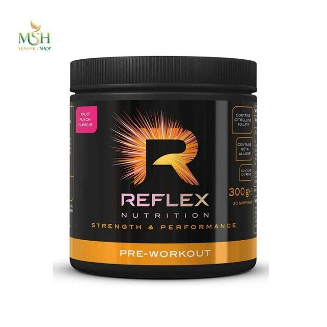 پری ورک اوت رفلکس نوتریشن   Reflex Nutrition Pre Workout