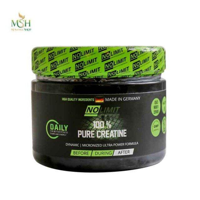 پیور کراتین نولیمیت | No limit 100% Pure Creatine