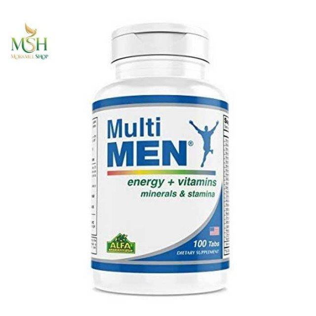 مولتی من آلفا ویتامین   Alfa vitamins Multi me
