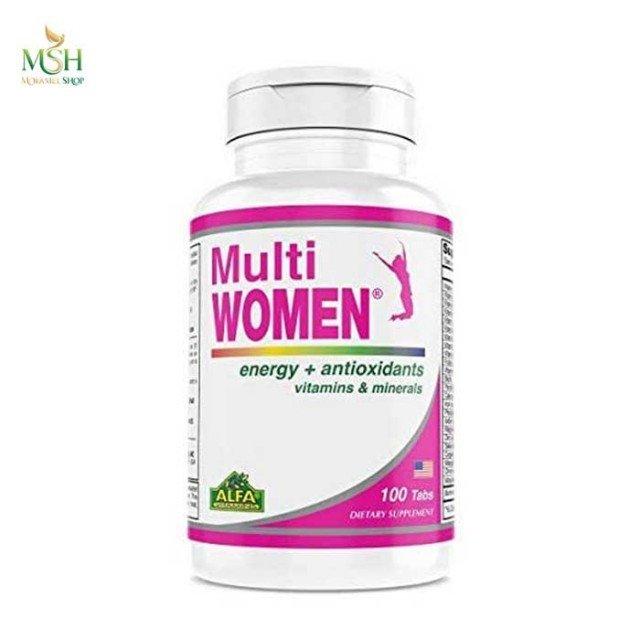 مولتی وومن آلفا ویتامین | Alfa vitamins Multi Women