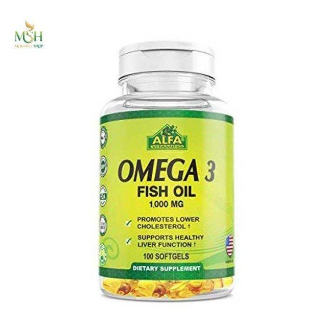 امگا 3 آلفا ویتامینز آلفا ویتامین | Alfa Vitamins Omega 3