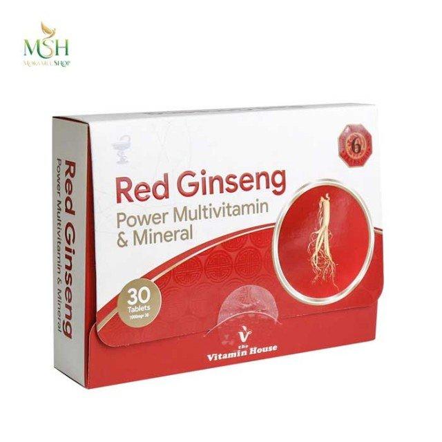 رد جیسینگ پاور مولتی ویتامین و مینرال ویتامین هاوس | Vitamin House Red Ginseng Power Multivitamin & Mineral