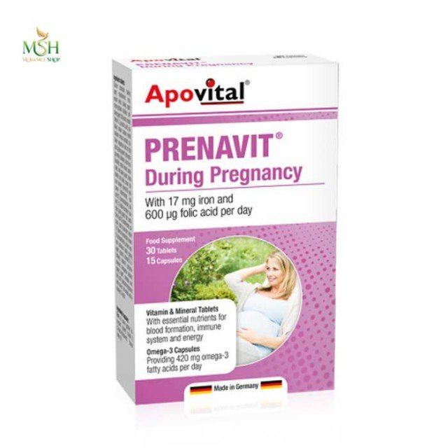 پریناویت دیورینگ پرگننسی آپوویتال | Apovital Prenavit During Pregnancy