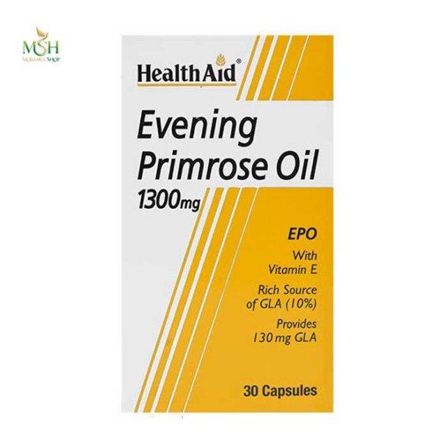 روغن گل مغربی هلث اید | Health Aid Evening Primrose Oil
