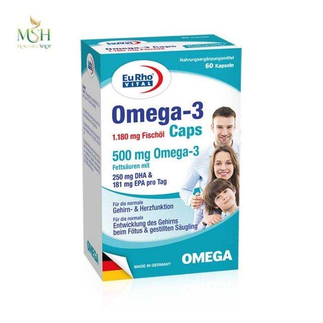 امگا 3 یورو ویتال | Eurho Vital Omega 3