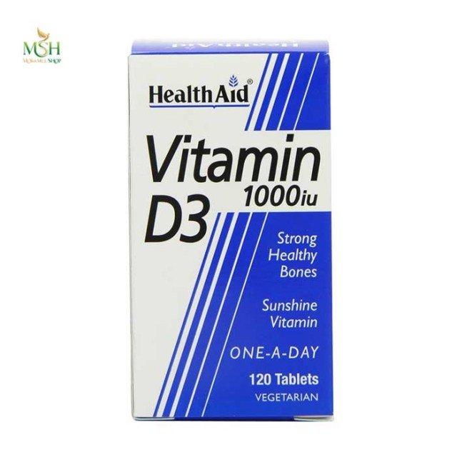 ویتامین D3 1000 واحد هلث اید | Health Aid Vitamin D3 1000 IU