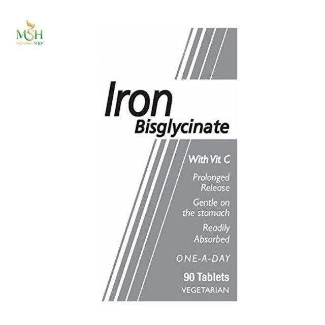 آیرون بس گلیسینات هلث اید | Health Aid Iron Bisglycinate