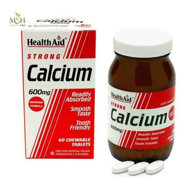 استرانگ کلسیم 600 میلی گرم هلث اید | Health Aid Strong Calcium 600 mg