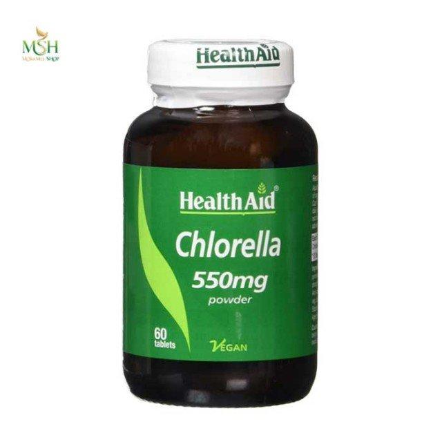 کلرلا 550 میلی گرم هلث اید | Health Aid Chlorella 550 mg
