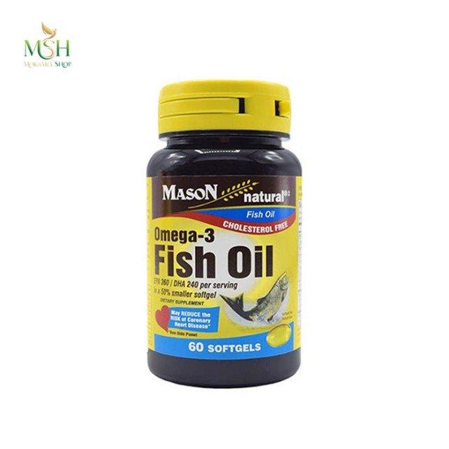 امگا 3 فیش اویل ای پی ای میسون نچرال | Mason Natural Omega 3 Fish Oil EPA