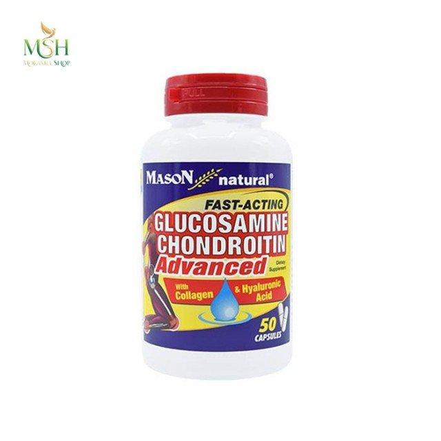 گلوکزامین کندرویتین ادونسد میسون نچرال | Mason Natural Glucosamine Advanced