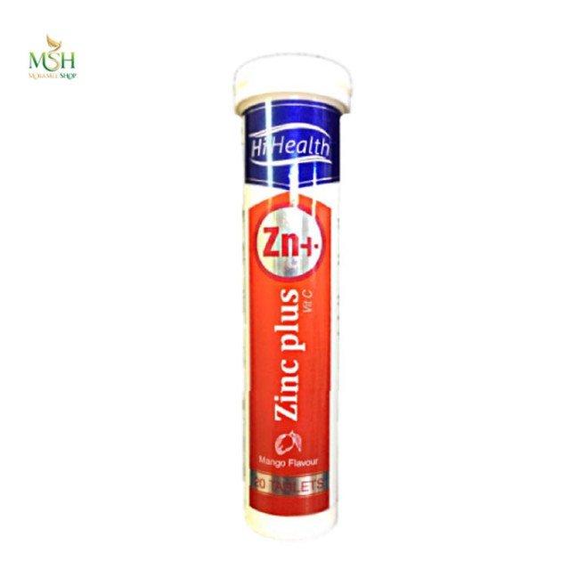 قرص جوشان زینک پلاس ویتامین ث های هلث | Hi Health Zinc Plus Vitamin C