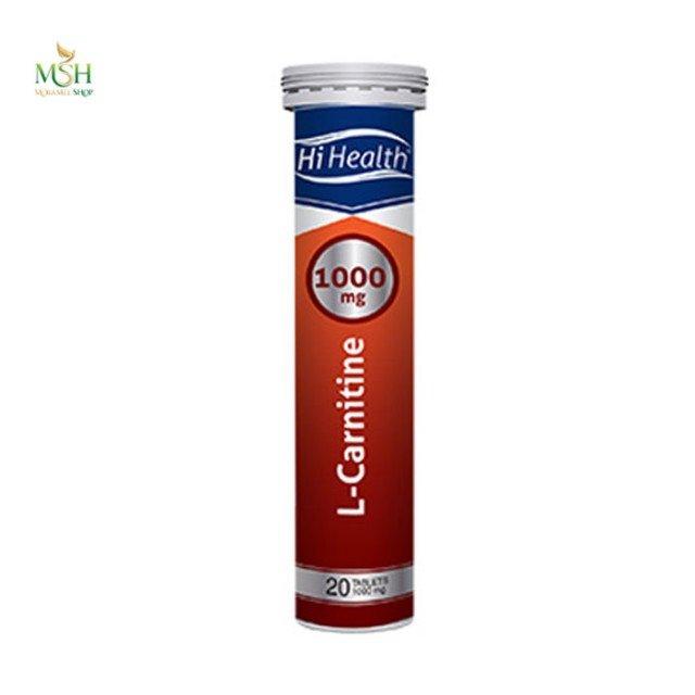 ال کارنیتین 500 میلی گرم های هلث |  Hi Healt  L Carnitine 500 mg