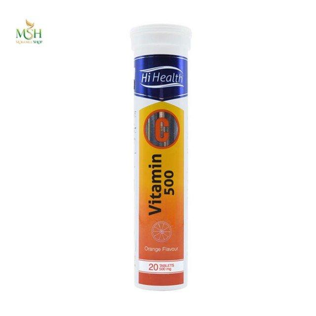 ویتامین ث 500 های هلث | Hi Health Vitamin C 500