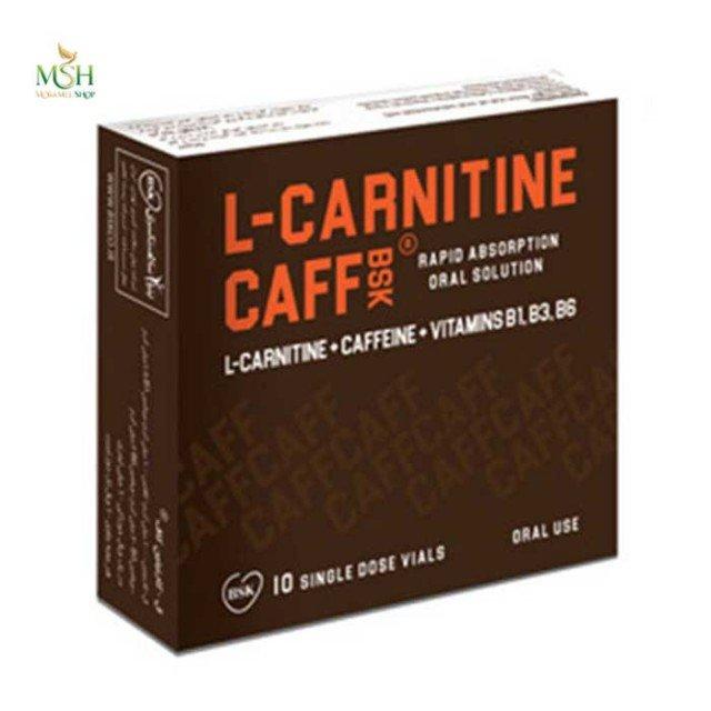 ویال خوراکی ال کارنیتین کاف بی اس کی   BSK L Carnitine Caff