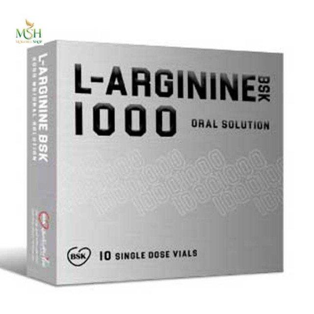 ویال خوراکی ال آرژینین 1000 میلی گرم بی اس کی | BSK L Arginine 1000 mg