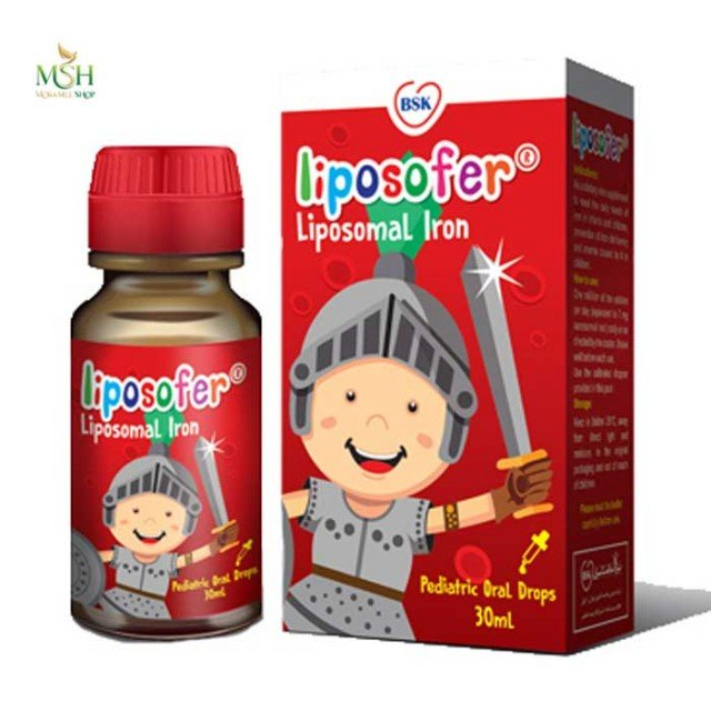 قطره لیپوزوفر بی اس کی | Bsk Liposofer