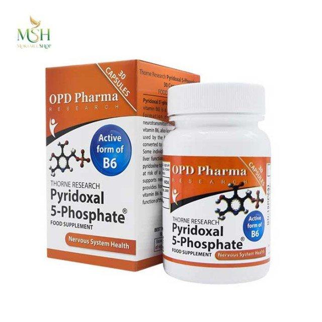 پیریدوکسال 5 فسفات او پی دی فارما | OPD Pharma Pyridoxal 5 Phosphate