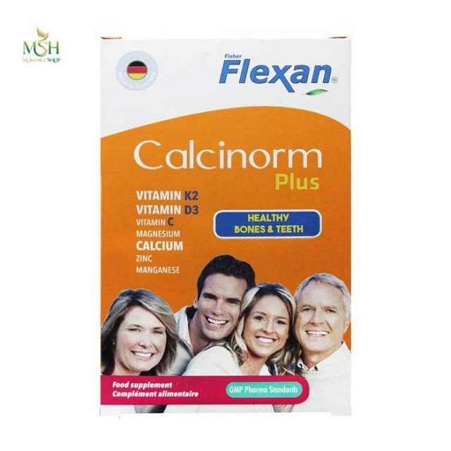 کلسی نورم پلاس فیشر فلکسان | Fisher Flexan Calcinorm Plus