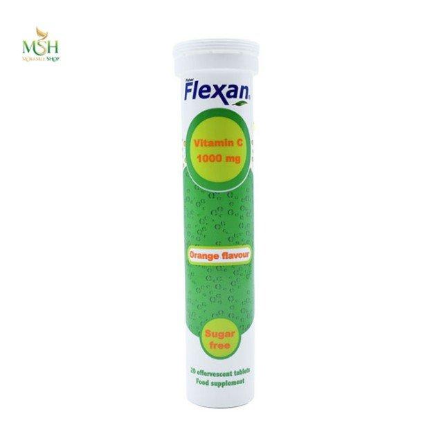 قرص جوشان ویتامین سی فیشر فلکسان | Fisher Flexan Vitamin C