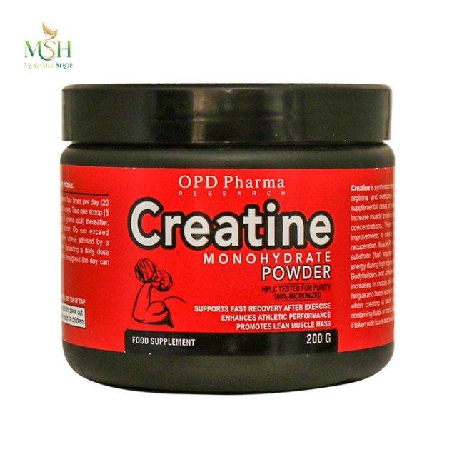 کراتین مونوهیدرات او پی دی فارما | OPD Pharma Creatine Monohydrate