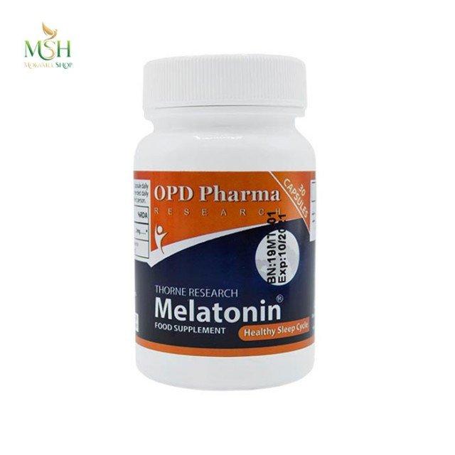 ملاتونین او پی دی فارما | OPD Pharma Melatonin Thorne Research