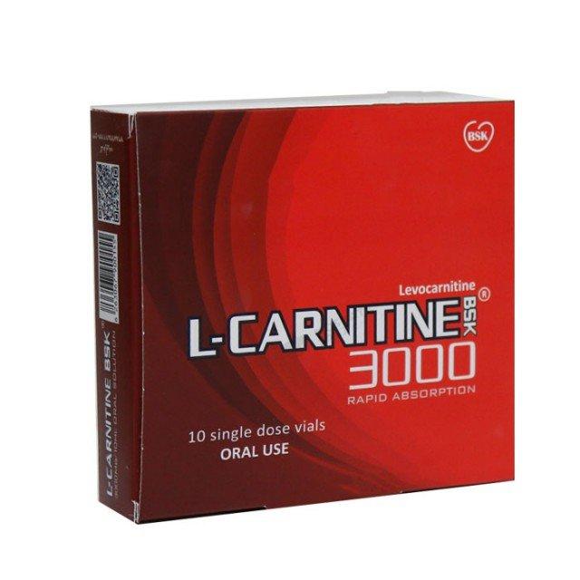 ویال خوراکی ال کارنیتین 3000 بی اس کی | BSK L Carnitine 3000
