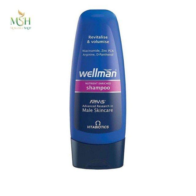 شامپو احیاء کننده و حجم دهنده ول من ویتابیوتیکس | Vitabiotics Wellman Revitalise And Volumise Shampoo