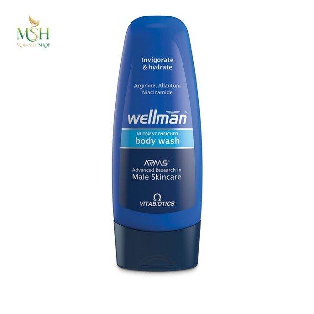 شامپو بدن شاداب کننده ول من ویتابیوتیکس | Vitabiotics Wellman Invigorate And Hydrate Body Wash