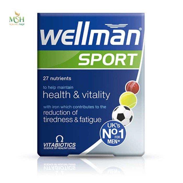 ول من اسپورت ویتابیوتیکس | Vitabiotics Wellman Sport