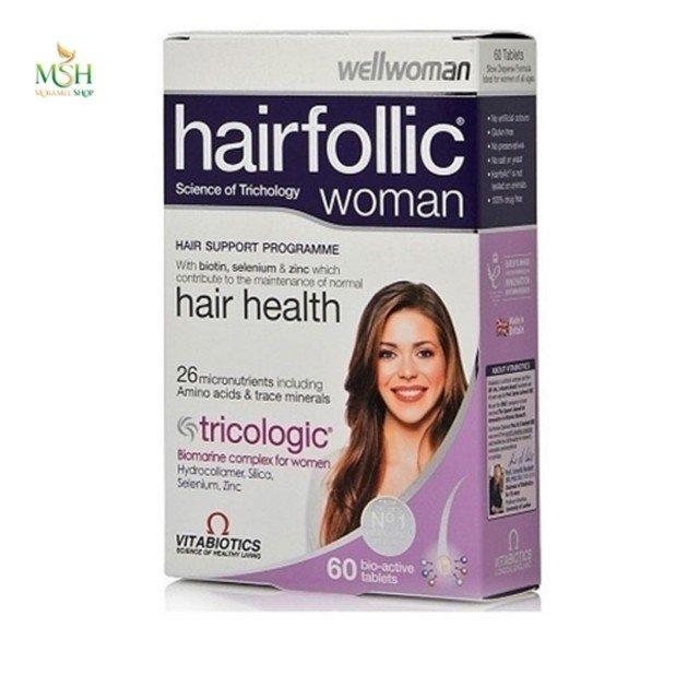 هیرفولیک وومن ویتابیوتیکس | Vitabiotics Hairfollic Woman