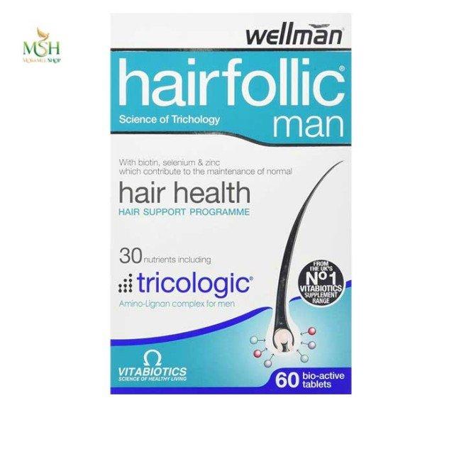 هیرفولیک من ویتابیوتیکس | Vitabiotics Hairfollic Man