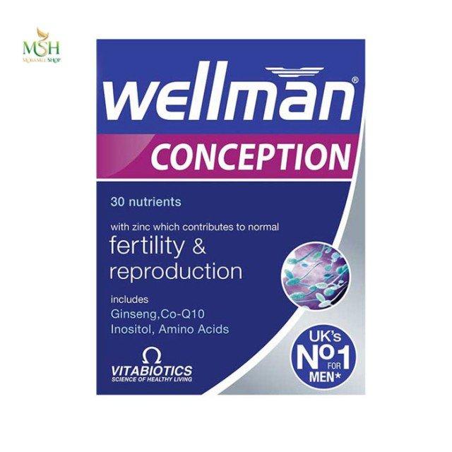 ول من کانسپشن ویتابیوتیکس | Vitabiotics Well Man Conception