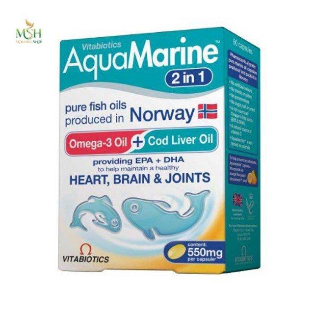 آکوامارین ویتابیوتیکس | Vitabiotics Aquamarine 2 in 1