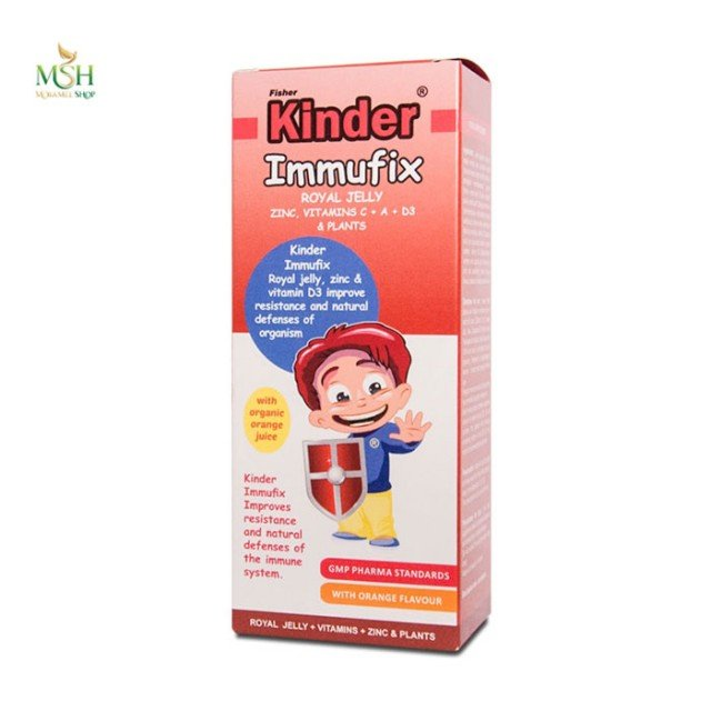 شربت ایموفیکس فیشر کیندر | Fisherkinder Kinder Immufix
