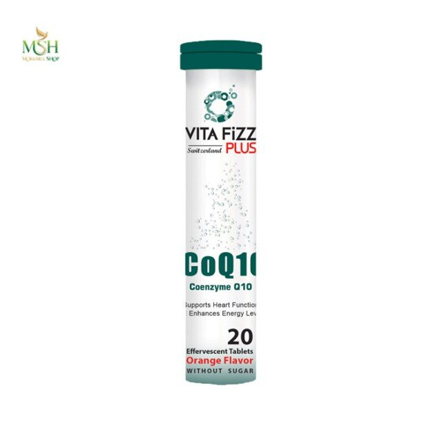 کوآنزیم کیوتن ویتافیز پلاس | Vita Fizz Plus Co Q10