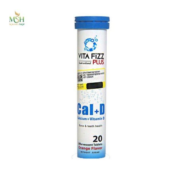 کلسیم و ویتامین د ویتافیز پلاس | Vita Fizz Plus Cal and D